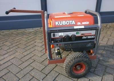Gebruikte Kubota AV1600 generator