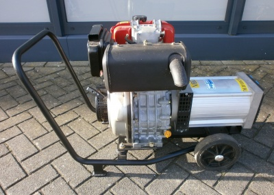 Gebruikte Yanmar generator