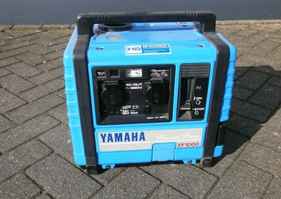 Gebruikte Yamaha EF1000 generator